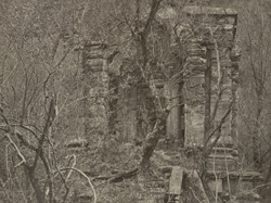 Kashmir. Temple on the road between Uri and Naoshera. Probable date A.D. 400 (?)